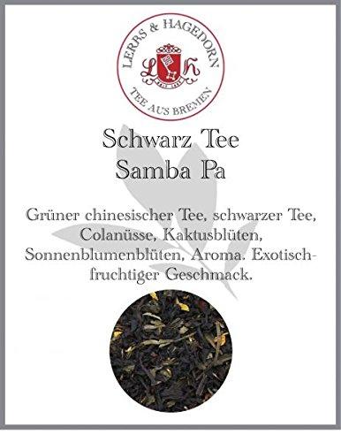 Schwarz Tee Samba Pa 1kg