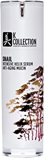 Snail Intensive Helix Mucin Anti Aging Serum for Face | Physician Grade Korean Inspired Skin Care | May Help Smooth Appearance of Wrinkles & Brightens for More Youthful-Looking Skin |1 fl oz