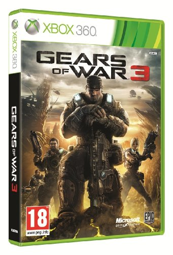 Microsoft Gears of War 3 - Juego (Xbox 360, Shooter, Epic Games)