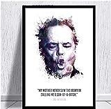 Jindongya Jack Nicholson Ölgemälde Poster druckt Leinwand