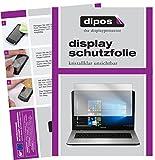 dipos I 2X Schutzfolie klar kompatibel mit Medion Akoya E7424 Folie Bildschirmschutzfolie