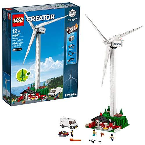 LEGO Creator Aerogenerador Vestas - Maqueta de Juguete de Molino de Viento Moderno (10268)