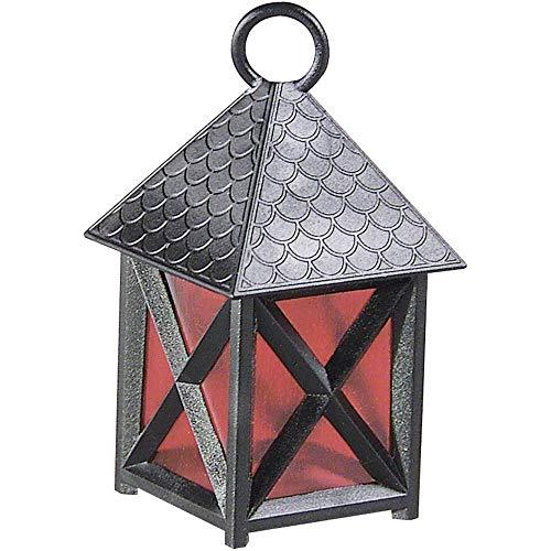 Kahlert Licht 20680 Puppenhauszubehör, schwarz, rot