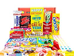 An Interesting Milestone Birthday Gift Idea Is This Retro Candy From Childhood Basket
