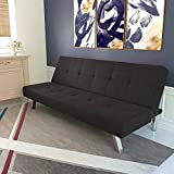 DHP Zany Futon Sofa Bed Sleeper, Durable...