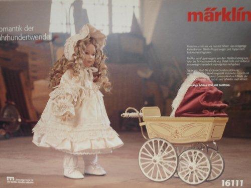 Märklin 16111 historischer Puppenwagen Blechmodell mit Heidi-Ott-Puppe