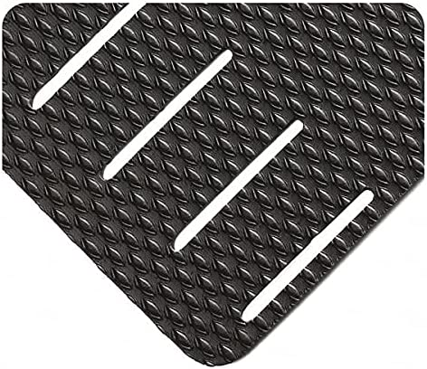 Wearwell Inc Black Kushion Walk Sale Special Price Slotted 3 8