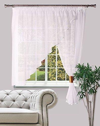 Splendid GF de karint de 300/160de Bi Curtain, 100% PES, White, 300x 160x 4cm