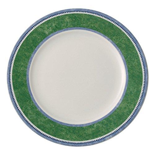 Villeroy & Boch Switch 3 Costa Frühstücksteller, 21 cm, Porzellan, Weiß/Grün/Blau