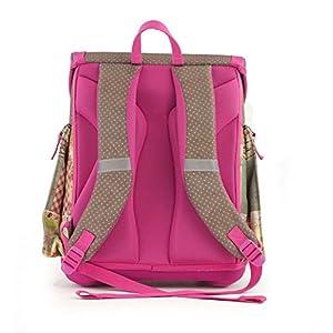 51Kp4X4LYwL. SS300  - Anekke Ergo Schulranzen/Ergonomic Backpack Sweet Mochila tipo casual, 42 cm, 23 liters, Multicolor (Sweet)