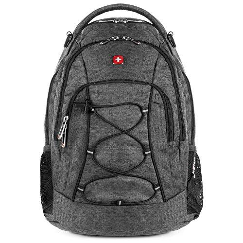 SWISSGEAR 1186 Laptop Backpack (Heather Gray)