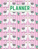 Planner: Llama Daily Weekly Monthly Calendar 2020 Planners | January 2020 to December 2020