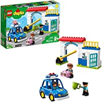 LEGO Duplo Town Police Station 10902 Building Blocks , New 2019 (38 Piece)