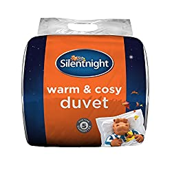 1 x warm and cosy duvet, super-king size 260 x 220 cm Generously filled with hollow fibre to provide comfort and warmth to Help you keep Cosy throughout the night 13. 5 and 15 togs are suitable for colder months, hypoallergenic and made in the UK Mac...