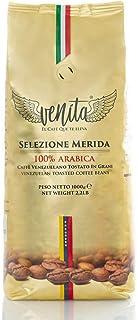 Venita Café Gourmet 100% Arábica Mérida en Grano Tostado , Paquete de 1Kg. Original de Venezuela y Procesado en Italia
