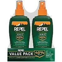 2-Pack Repel Insect Repellent Sportsmen Max Formula Spray Pump