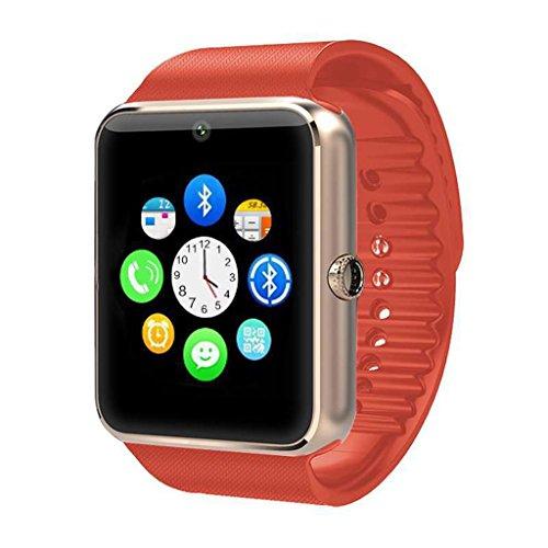 XHZNDZ Smartwatch Bluetooth, Smartwatch 1.54 '' con Slot per Scheda SIM e Memory Card Smartwatch Band con Fotocamera Facebook Wechat Pedometro Monitor per Dormire Smart Watch per Cellulare Android