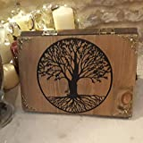 Tree of life rustic wooden tablet/book stand/holder - Tabletop Gaming, home, office, study