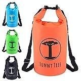 Funny Tree Drybag. (30L orange) Wasserdichter (IPx6), verbesserter DryBag, schwimmfähig. Inklusive...