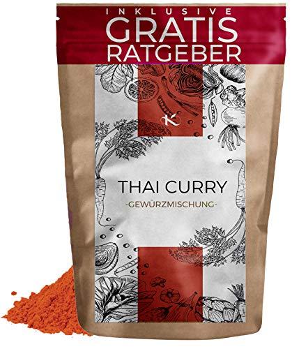 Thai Curry Gewürzmischung 250g | Curry Gewürzspezialität nach Thai Art inkl. gratis Ratgeber | hochwertiges Gewürz indische Curry-Gerichte Currygewürz