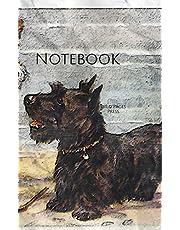 Notebook: Old Buddies at Play Dog Best Friends Terrier Beach Friends