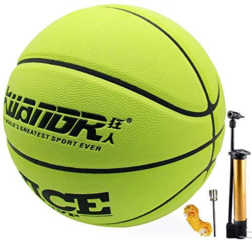 Senston Strada università Pallone da Basket Taglia 7, Pallone da Basket per la Gioventù Maschile, Interno All'aperto Pallone da Basket