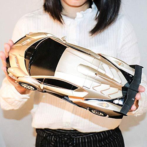 Uno y doce Modelo 2-en-1 Deformación del robot de coches transformador de...