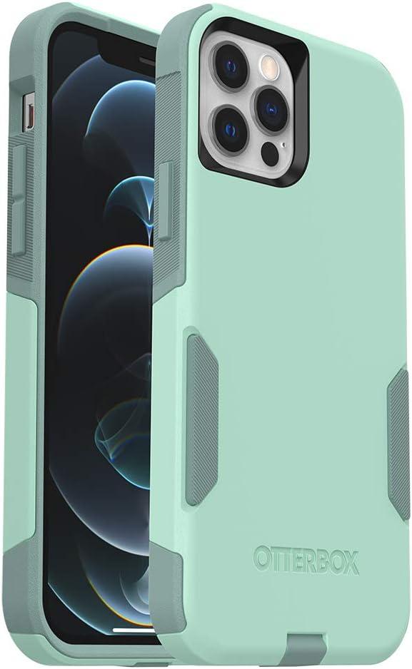 OtterBox Commuter Series Case for iPhone 12 & iPhone 12 Pro - Ocean Way (Aqua Sail/Aquifer) (77-80575)