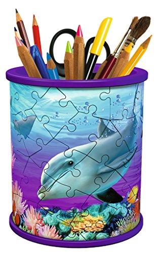 Ravensburger 12116 3D-Puzzle Utensilo Unterwasser Girls