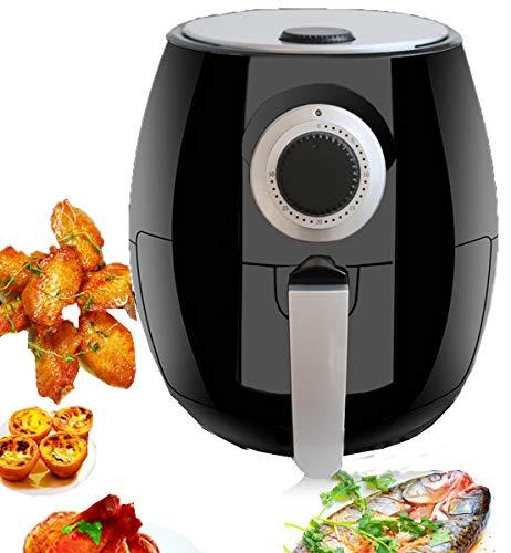 Huaishu Fridora3L friteuse voor gezonde, vetarme keuken, met instelbare temperatuurregeling en timer, 1400 W