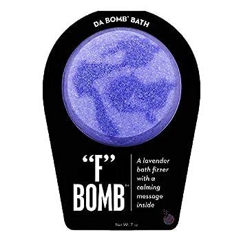 Da Bomb F  Bath Bomb Purple