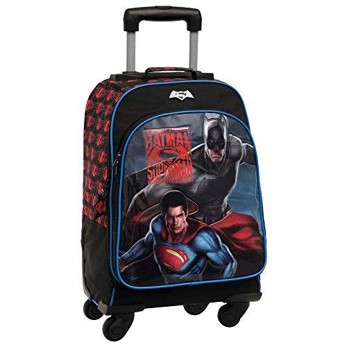 3. Warner Superman Batman Mochila Escolar - Ideal para los pequeños de la casa