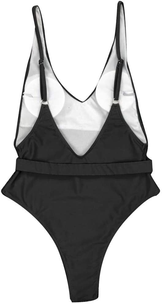 YOMXL Max 76% OFF Sexy Womens Monokini Scoop Cheeky Neck Piece It is very popular Backless One