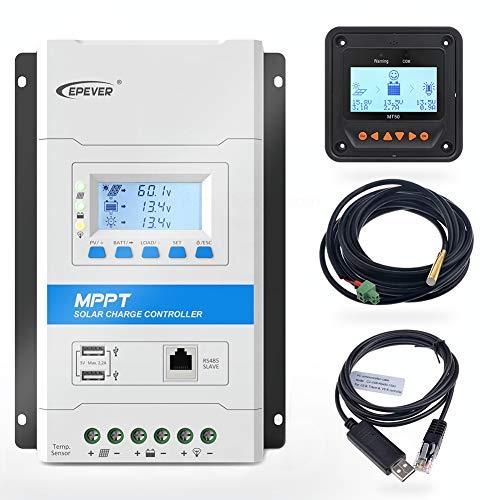 EPEVER neueste 30-A-MPPT-Laderegler, TRIRON 3210N Intelligent Regulator [Aktualisierte Version der Tracer A / an-Serie]