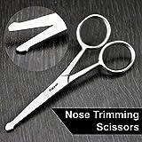 Forbici Naso Baffi Forbici di faccia di taglio dei capelli del bambino acconciature di forbici