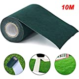 Cinta de costura de césped artificial, 15 cm x 10 m, cinta adhesiva para césped artificial, para exterior, jardín