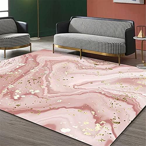 IRCATH Patrón de Arte Simple Simple no es fácil de desvanecer Estudio Interior Mesa de café sofá Corredor Alfombra decorativa-140x200cm Resistente y Duradera Resistente a la presión sin decoloración