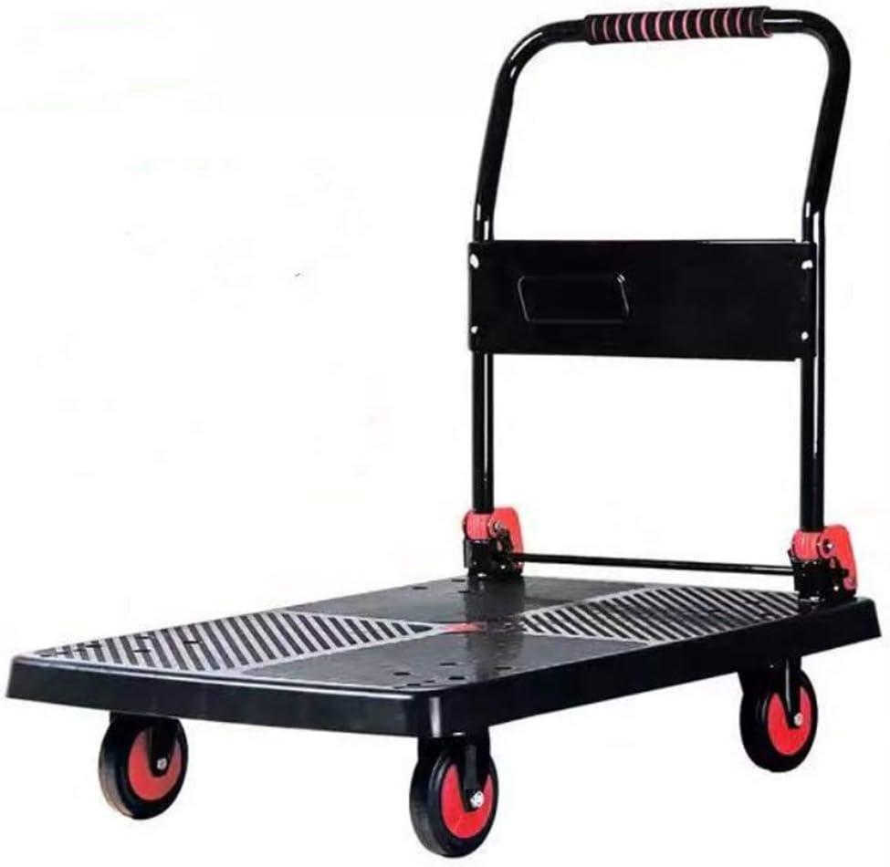 Household items Plastic Flat trolleys Fou free Trucks Pallet online shop Silent
