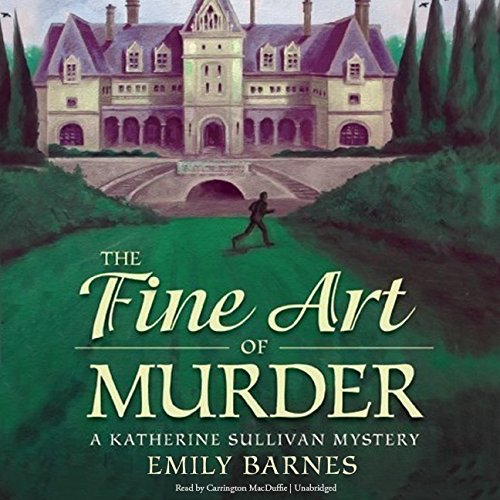 The Fine Art of Murder audiobook cover art
