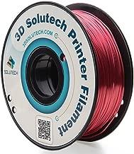 3D Solutech Hot Pink 3D Printer Ultra PLA Filament 1.75MM Filament, Dimensional Accuracy +/- 0.03 mm, 2.2 LBS (1.0KG)