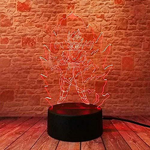Creative Led Veilleuses Bébé Sommeil Enfants Cadeaux 3D Illusion Comics Suite Lampes de Table Éclairage Intérieur Lampes De Chevet Meilleur Cadeau Jouets