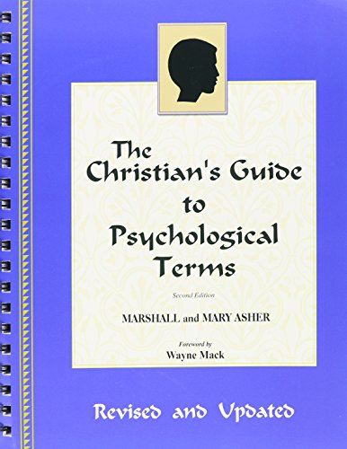 Christian's Guide to Psychological Terms, A
