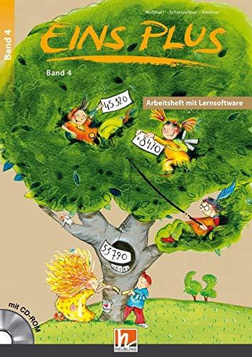 EINS PLUS 4. Ausgabe Deutschland. Arbeitsheft mit Lernsoftware: Mathematik für die vierte Klasse der Grundschule (EINS PLUS (D) / Mathematik Grundschule)