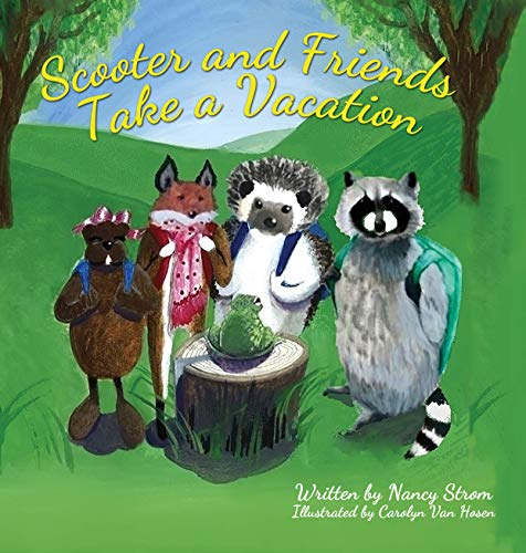Scooter and Friends Take a Vacation (English Edition)