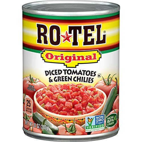 ROTEL Original Diced Tomatoes and Green Chilies, 10 Ounce can