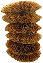 Pack of 3 Tawashi Vegetable Brushes Natural Coconut Fiber, Japanese design, Ideal for Fruits, Veggies and Household use wi...