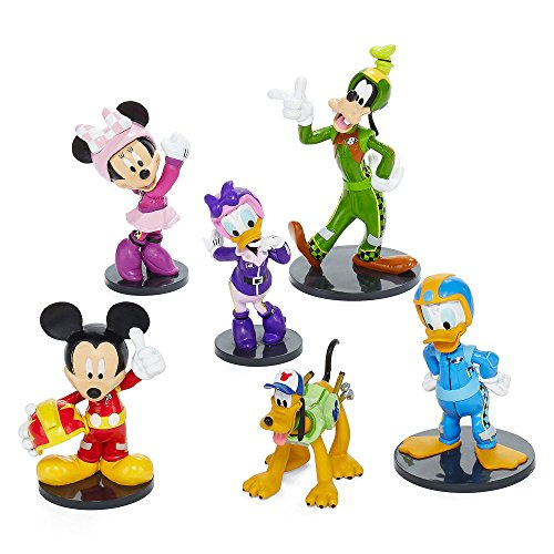 Disney Collection Mickey and the Roadster Racers Figurine Playset