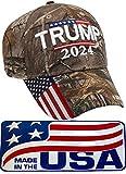 Donald Trump Hat 2024 MAGA Keep America Great Take America Back Camo Hat Adjustable Baseball Cap Hat (Camo)