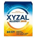 Xyzal Allergy Pills, 24-Hour Allergy Relief, Original Prescription Strength, 35-Count