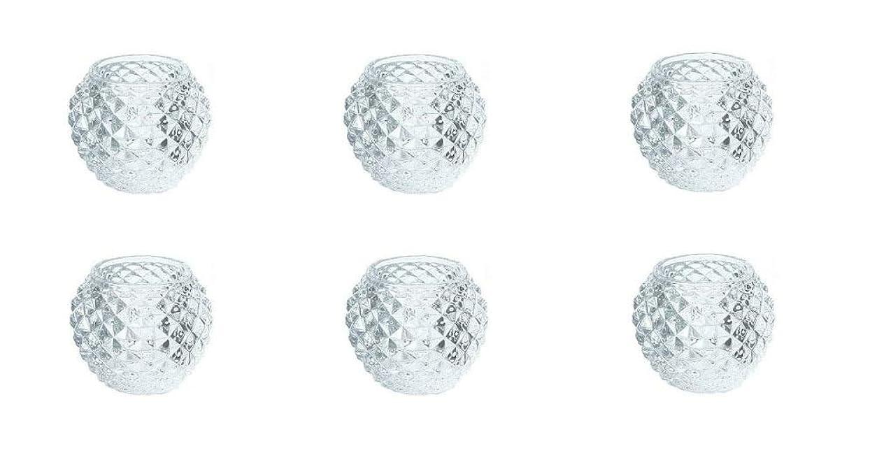 後方従事した膨張するカメヤマキャンドルハウス ダイヤモンドボール J5300000 6個入り